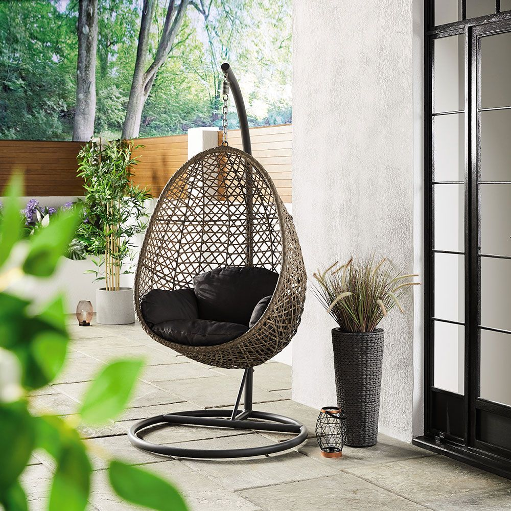 Admirable The Popular Aldi Hanging Egg Chair Is Coming Back And Its Up Machost Co Dining Chair Design Ideas Machostcouk