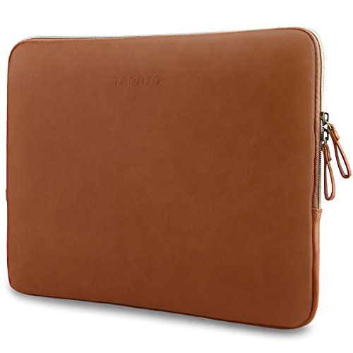 Lucrin - Housse de protection pour MacBook Air 13 pouces Retina Display - cuir de vachette lisse - Orange