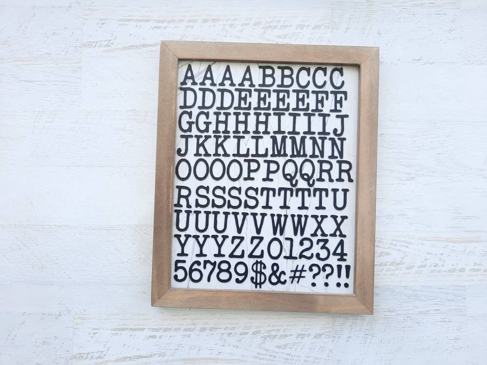 Magnetic Alphabet Letter Set 91 Pieces All Caps Magnetic Letters Wood Letter Board Jedi Havensplace In 2021 Magnetic Alphabet Letters Wood Letters Letter Set