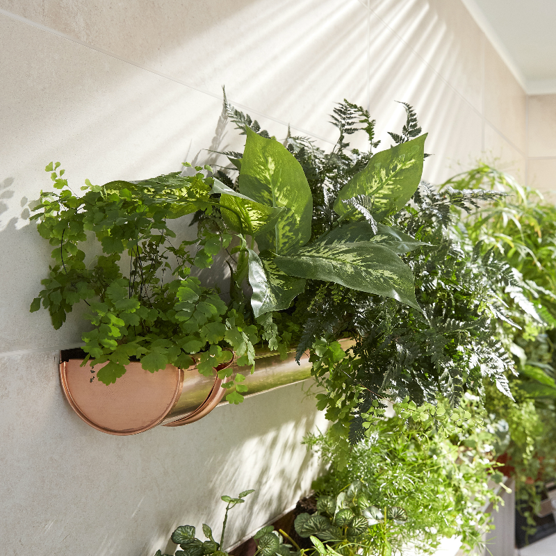 Recycler Vos Gouttières En Jardinières Suspendues Une Idée