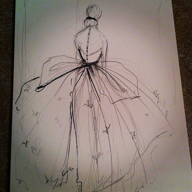 Cool wedding dress idea