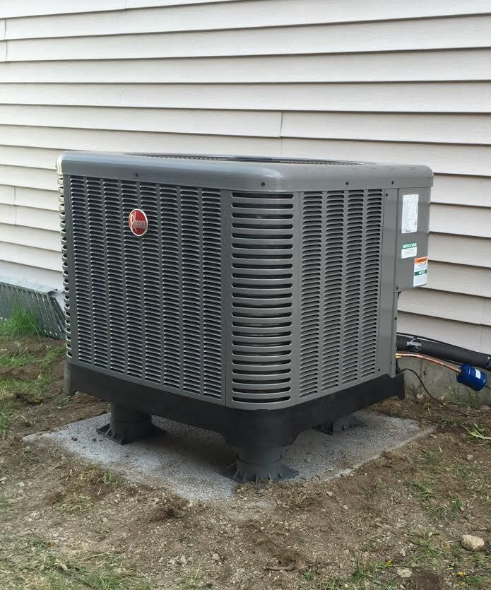 Have You Thought About A New Heat Pump Consider The Rheem Ra14