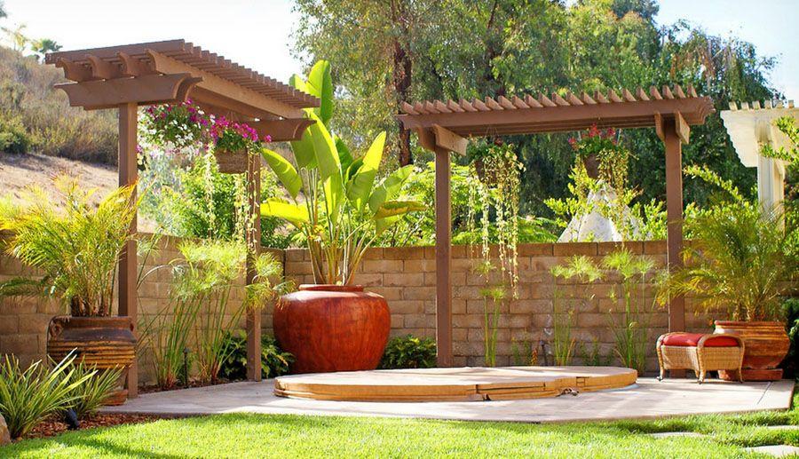 2 Post Pergoloas I Pergola Mediterranean Garden Design Pergola Plans