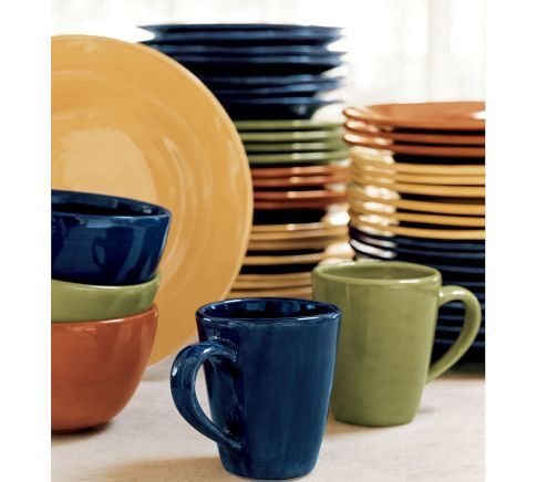 Sausalito Dinnerware from Pottery Barn  sc 1 st  Pinterest & Sausalito Dinnerware from Pottery Barn | For the Home | Pinterest ...