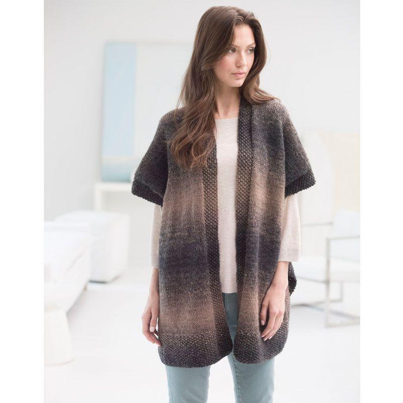 0409277b1a45 Lion Brand Scarfie Free Spirit Topper - free knit patterns - easy ...