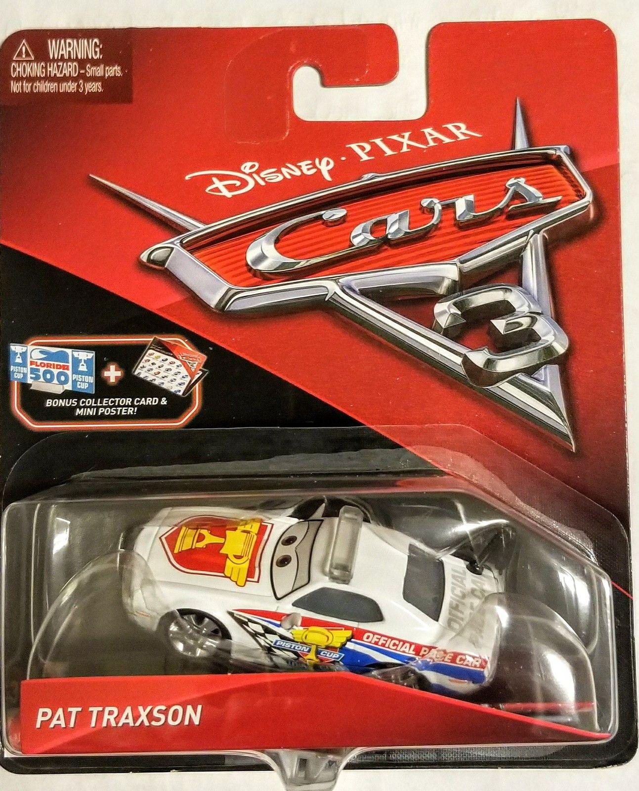 Disney/Pixar Cars 3 Pat Traxson DieCast Character Car