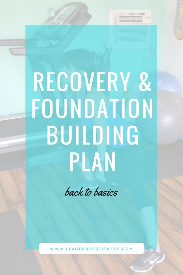 Back To The Basics Recovery And Foundation Building Plan