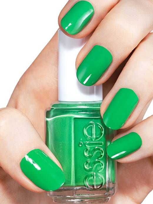 mojito madness - nail art by essie looks | NAILS !!! Fine and ...