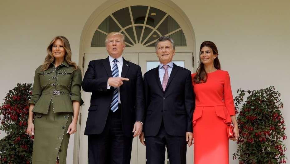 Trump podría visitar Argentina en el 2018