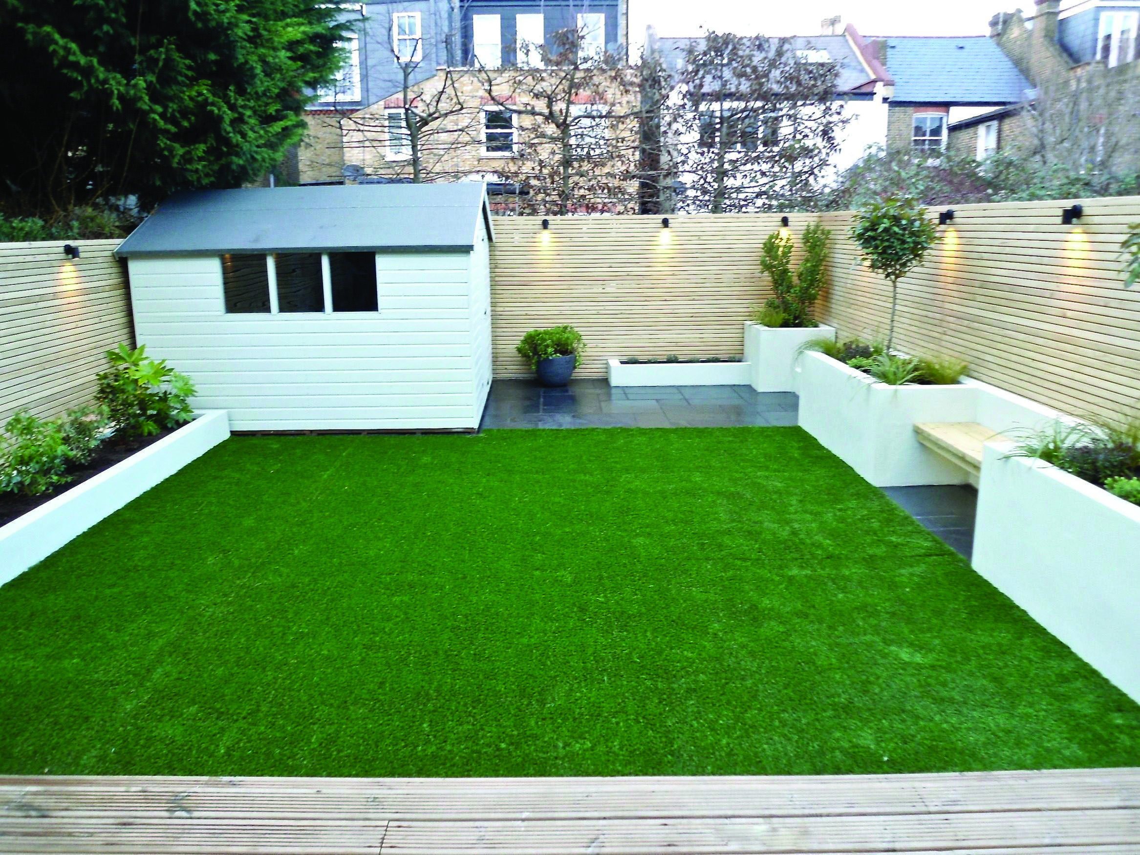 Tiny yard concepts to make the most of a little room  Modern