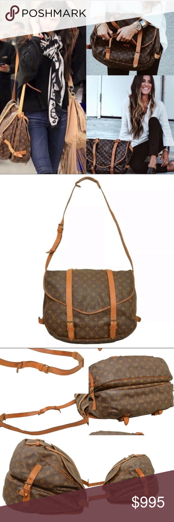 1e911e92b157 Spotted while shopping on Poshmark  Iconic Louis Vuitton Crossbody Shoulder  Bag!  poshmark