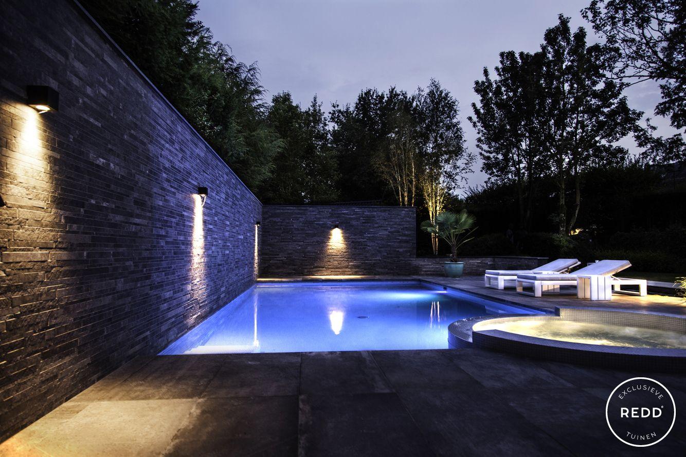 Tuinontwerp wellness tuin studio redd exclusieve tuinen zwembad