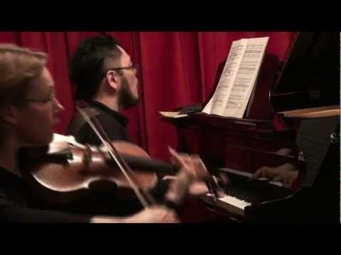 Schubert Piano Trio No.1 in B-flat major D898 - TRIO AURORA live @ Spielmann Pianos  - Directed by Jean.François Réveillard