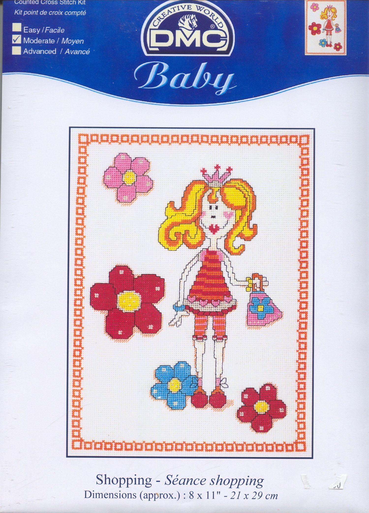 Schematic cross stitch Baby 2