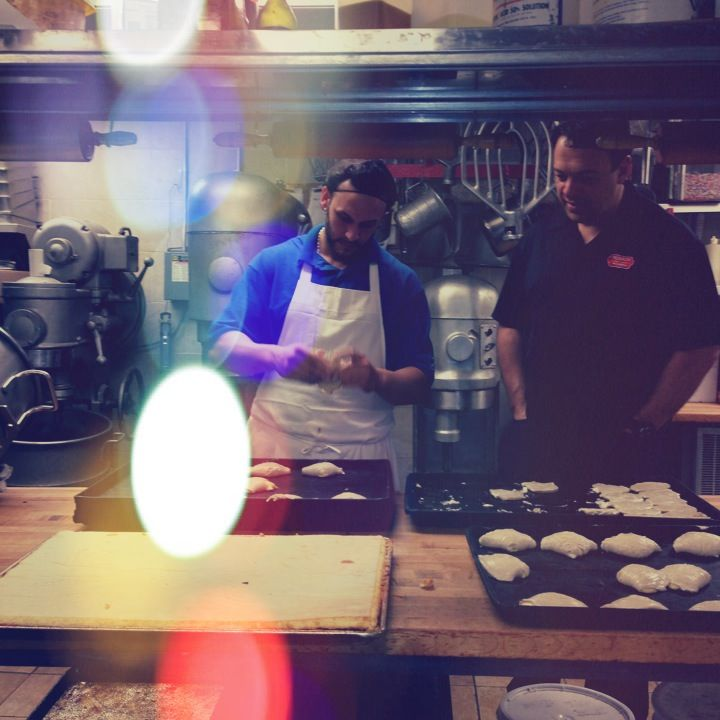 Before heading out the door Anthony\u0027s pouring some love into our delicious pastries with Rocco & Before heading out the door Anthony\u0027s pouring some love into our ...