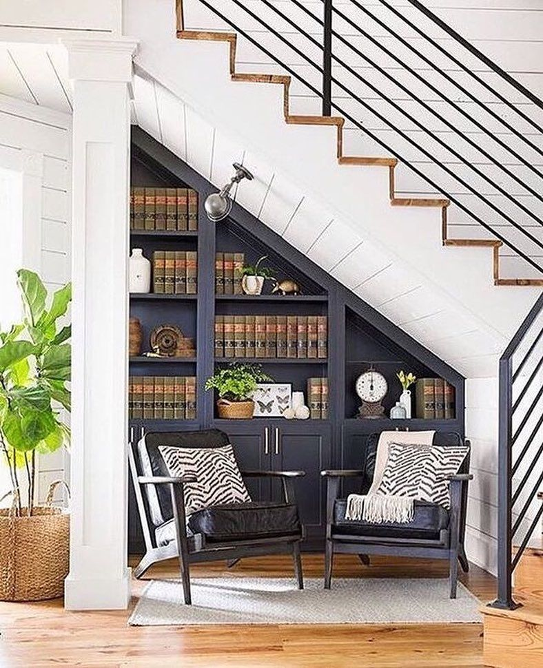 """60 Unbelievable Under Stairs Storage Space Solutions: Extra Space Storage On Instagram: """"The Space Under Your"""