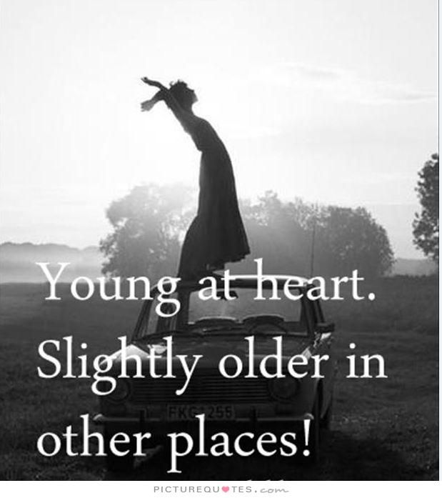Slightly Young Older Heart