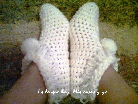 Resultado de imagen para escarpines de bebe a crochet paso a paso ...