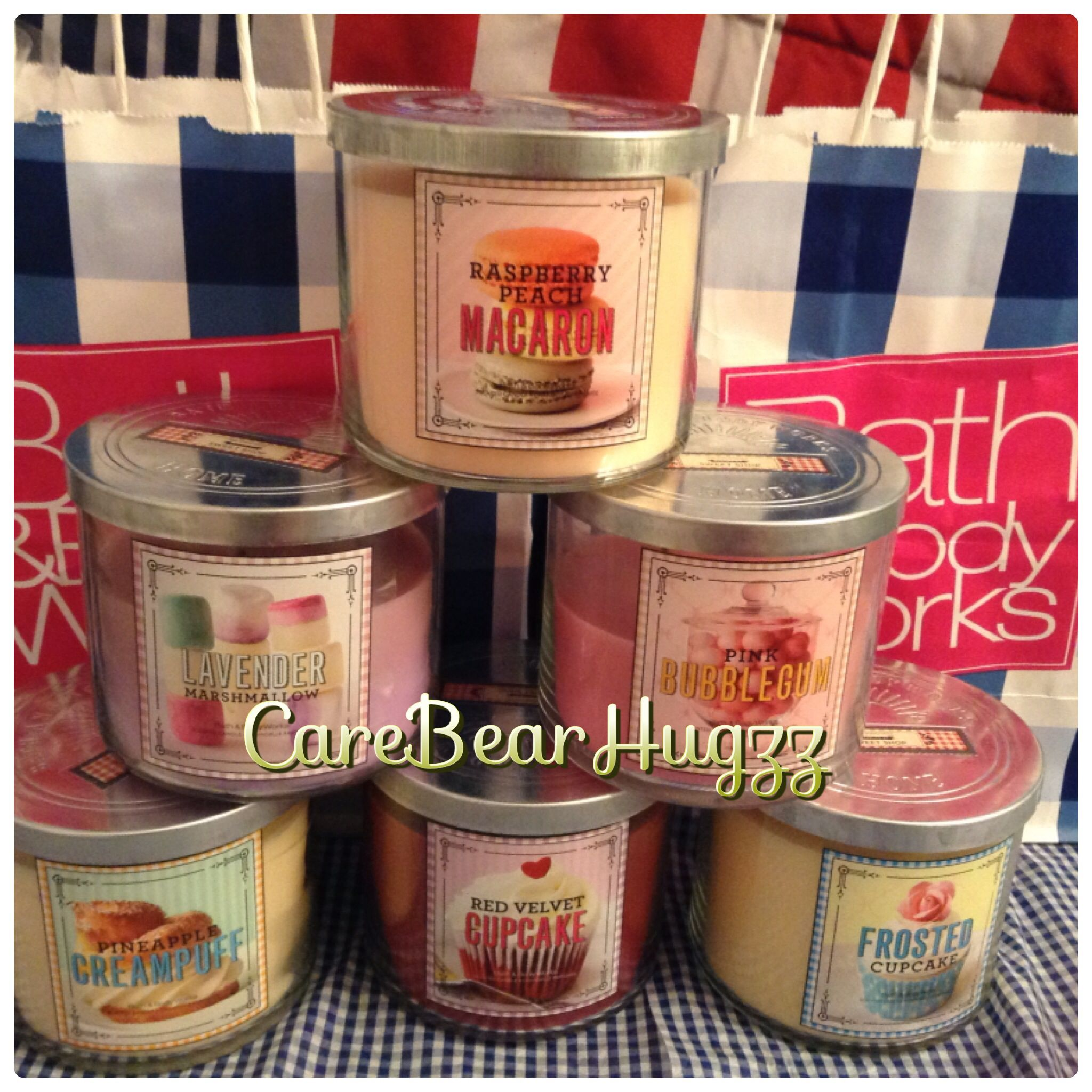 Bath and Body Works Sweet Shop candle collection 2013/2014