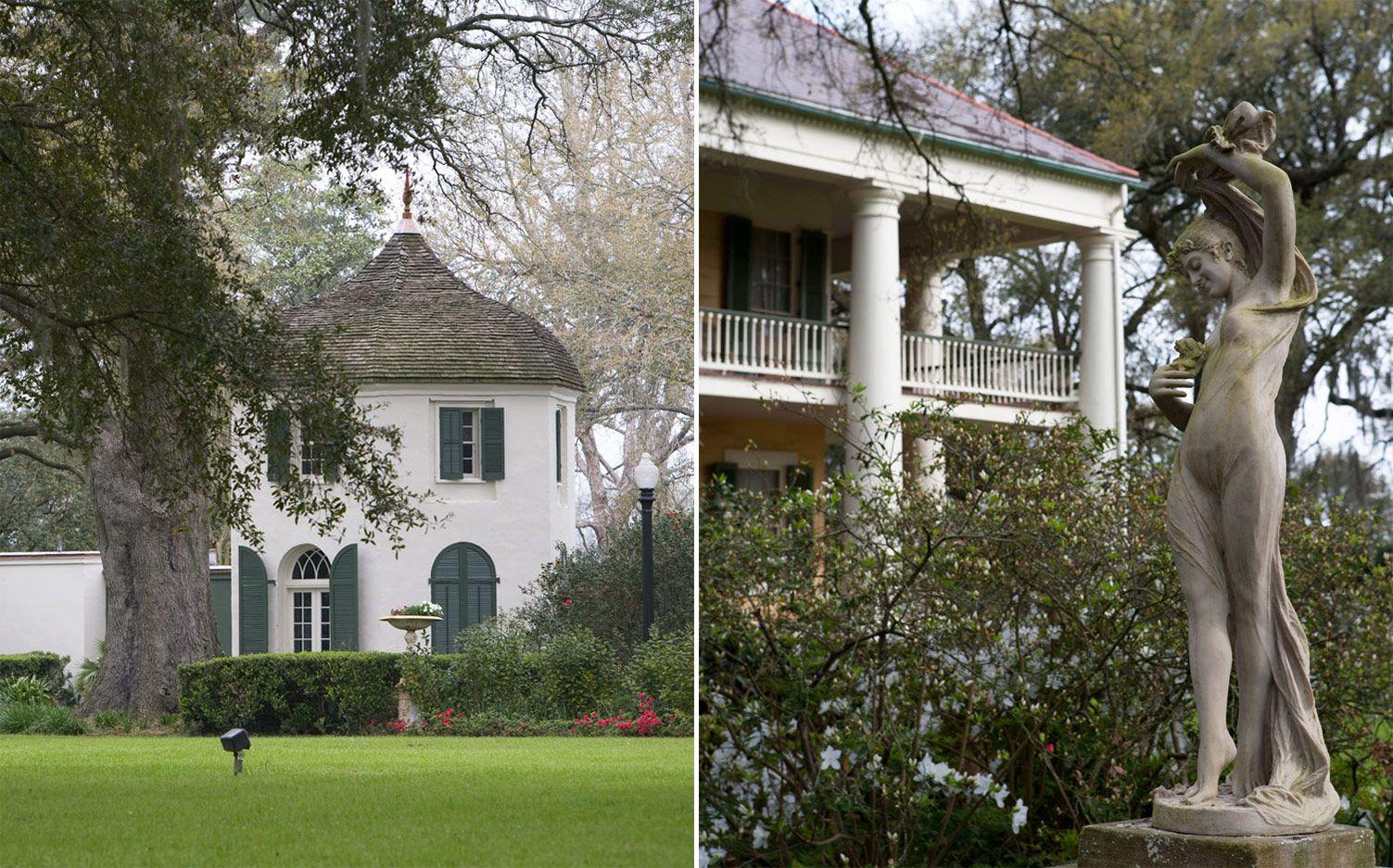 Historic Southern Homes Houmas House in Darrow, Louisiana