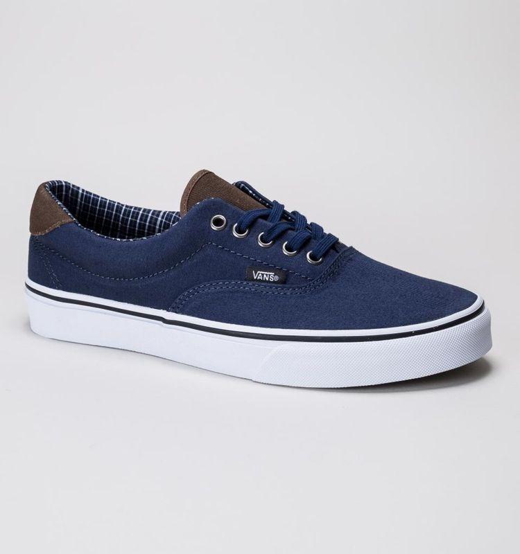 Vans Era 59 (Cord & Plaid) Dress Blue