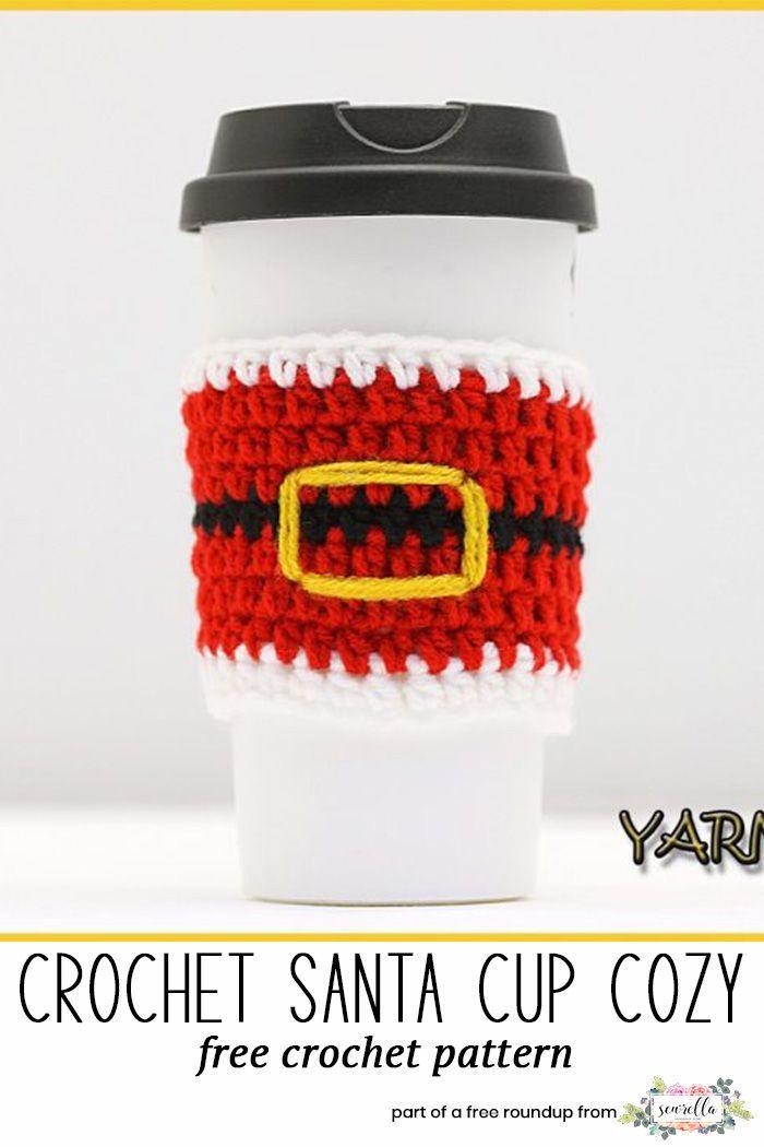 Crochet Last Minute Christmas Patterns | Canastilla, Guantes y Hogar