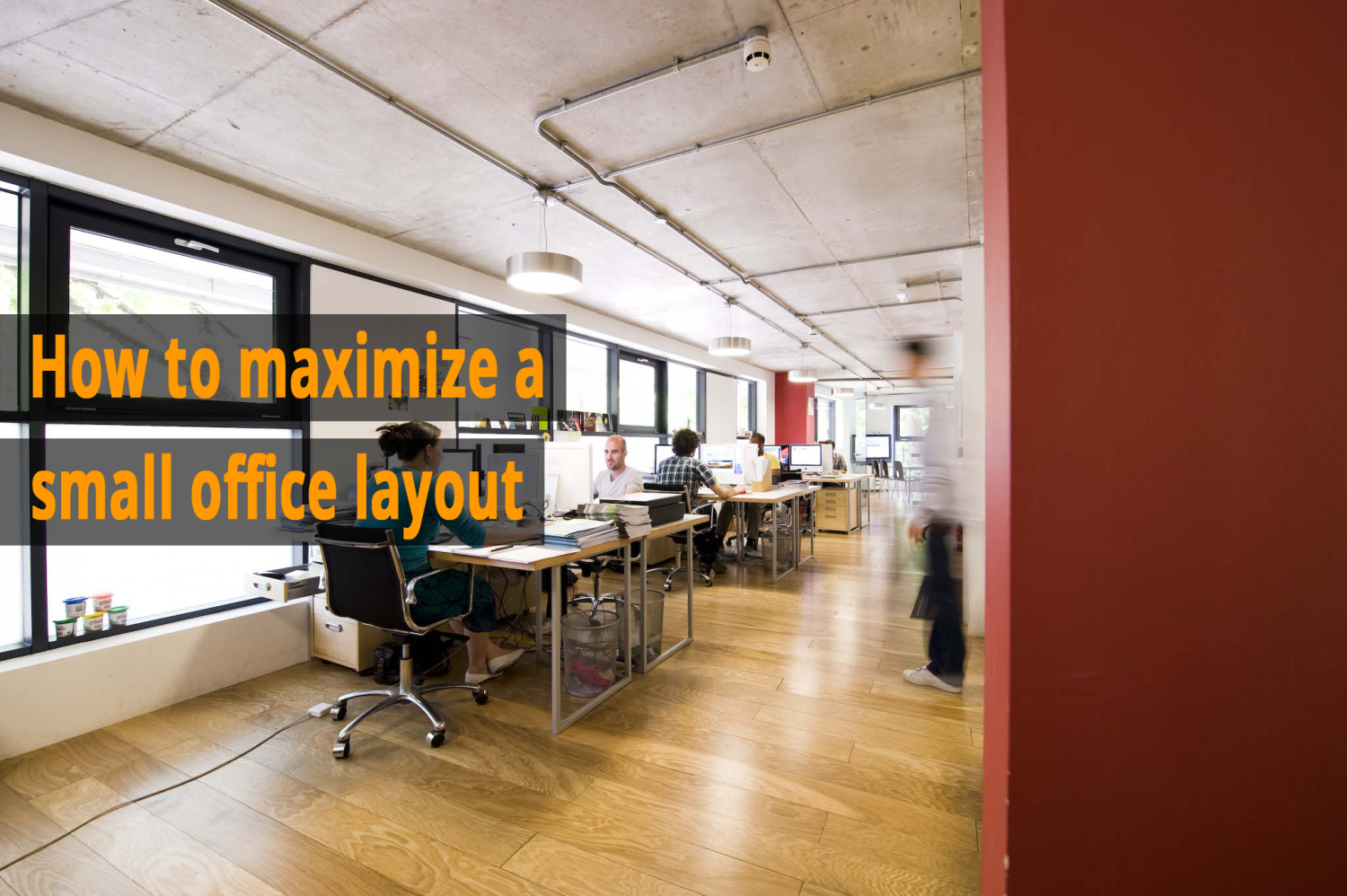 How To Maximize A Small Office Layout Service Space