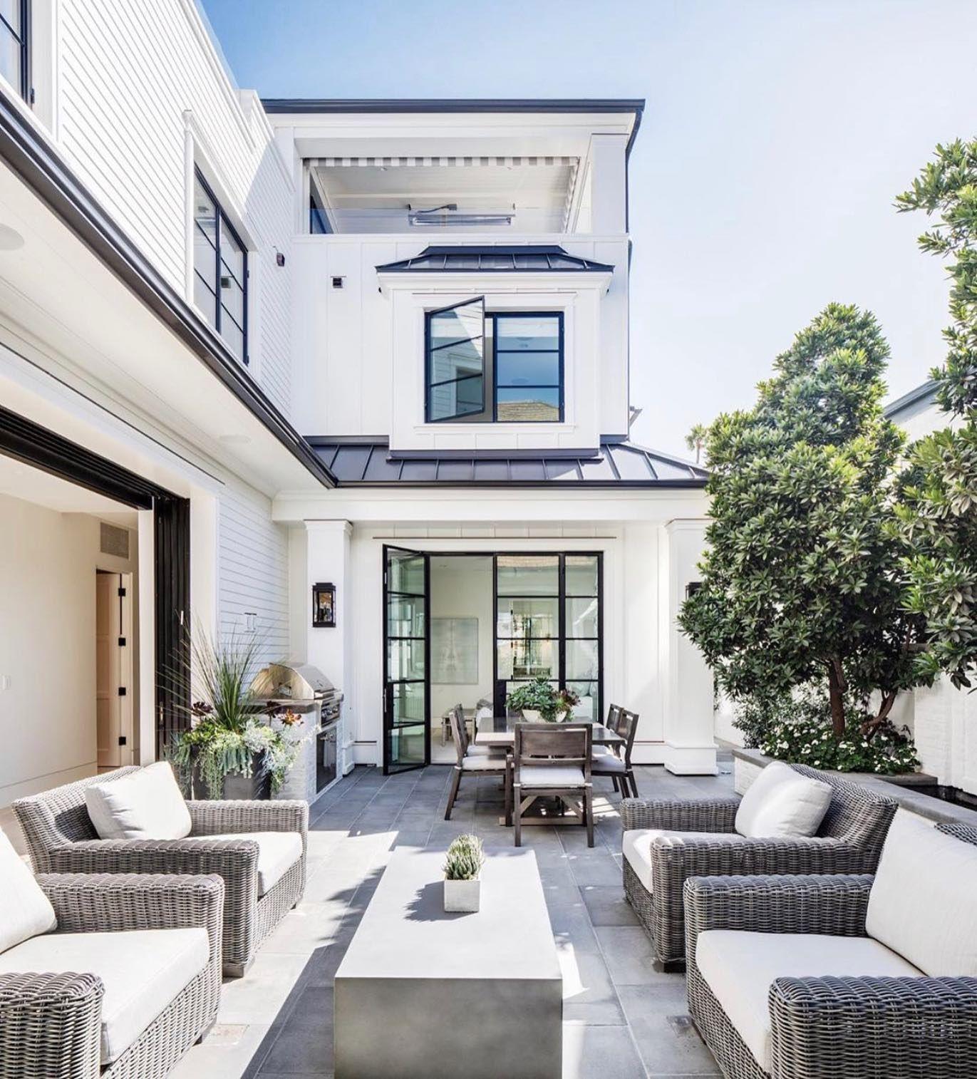 Pivot Doors Euroline Steel Windows In 2020 Dream House Exterior House Exterior Dream Home Design