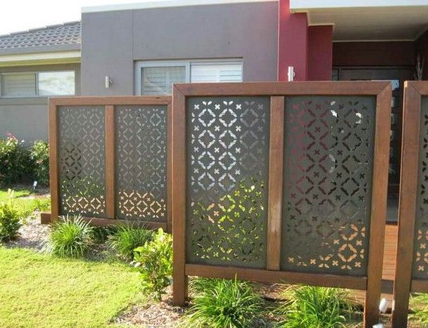 Privacy Screens For Decks Home Depot Backyard Screen