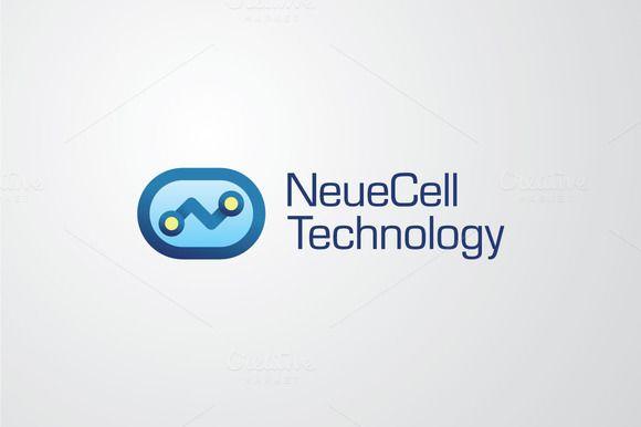 NeueCell Tech | Vector Logo by HMX23 on Creative Market