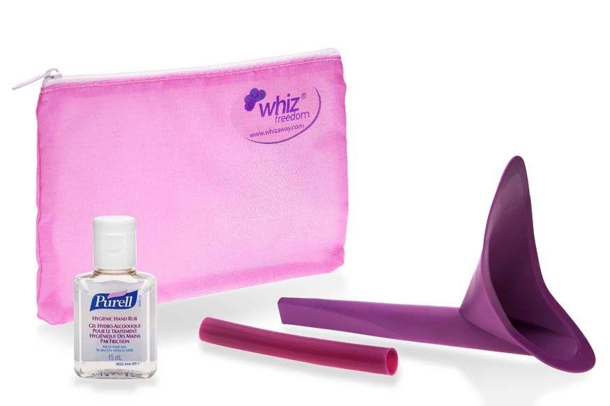 A Hygenic Urology Pack With Whiz Freedom 10cm Tube Organza Bag