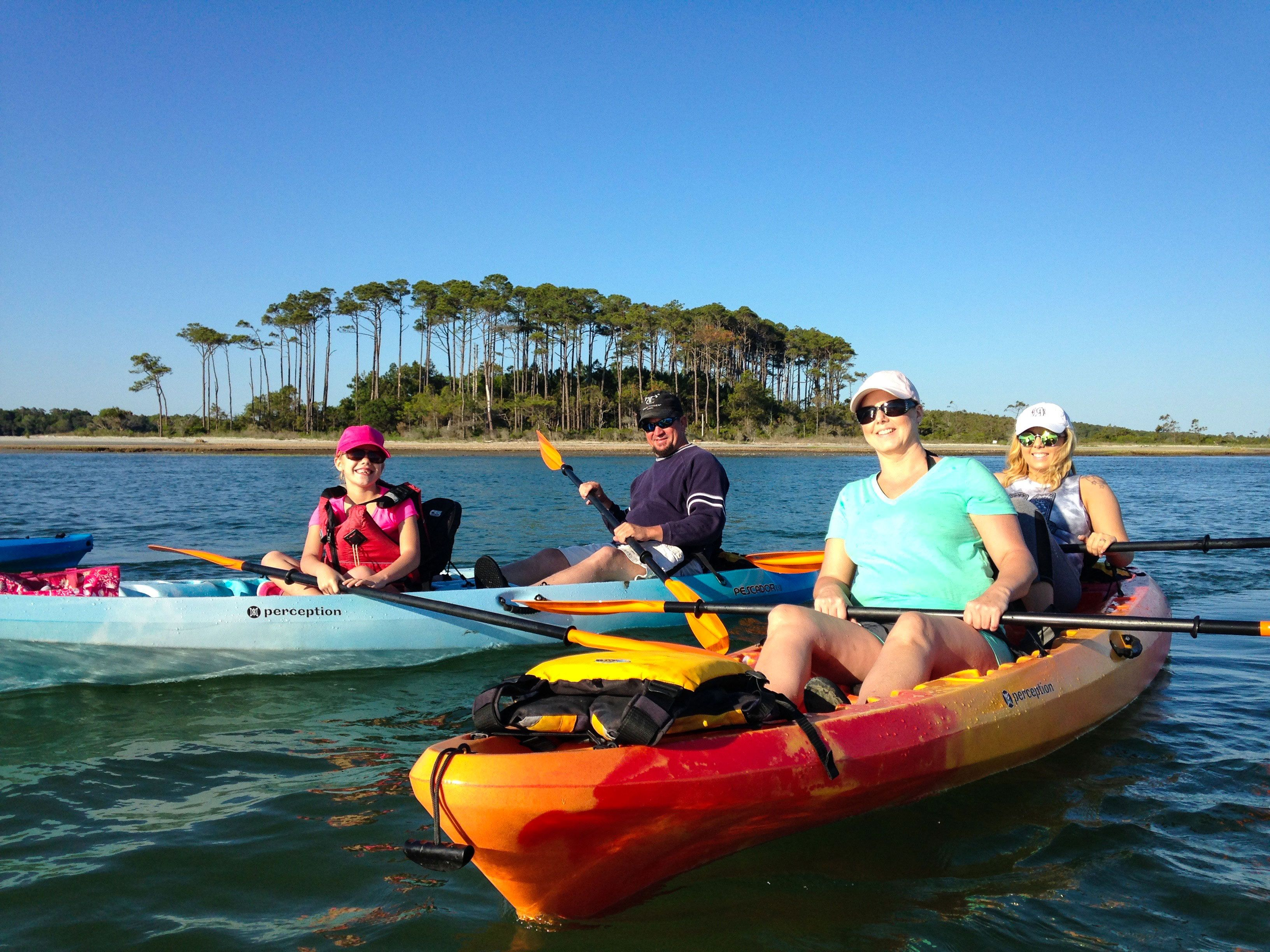 Myrtle Beach Kayak Specials Coupons Deals North Kayaking J L Tours Cherry Grove