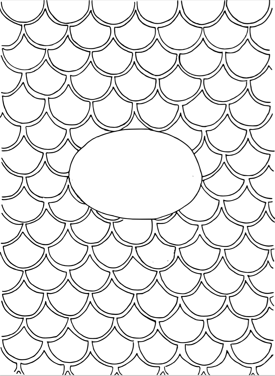 Template de Sirena colouring pages Pinterest School Crafts