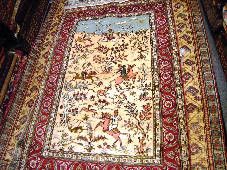 Antique Mongolian Rug at 1stdibs |Mongol Rug