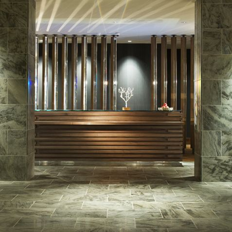 AVIA Hotel Lobby designed by #McCARTAN #luxury #design #interior