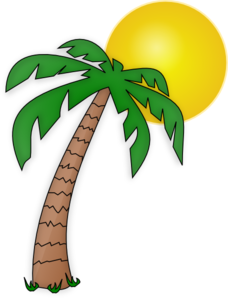 palm tree under the sun clip art images pinterest clip art rh pinterest com Christian Palm Sunday Jesus Palm Sunday Clip Art