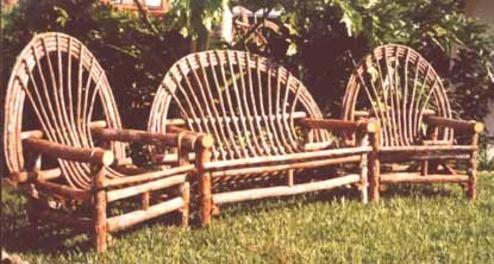 Strange Heritage Cypress Twig Furniture Oklahoma Starting 395 Camellatalisay Diy Chair Ideas Camellatalisaycom
