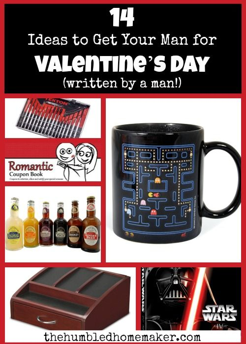 14 valentine's day gift ideas for men | gift and craft, Ideas