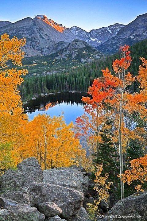 Bear Lake Rocky Mountain National Park Colorado  #AwesomePlaces