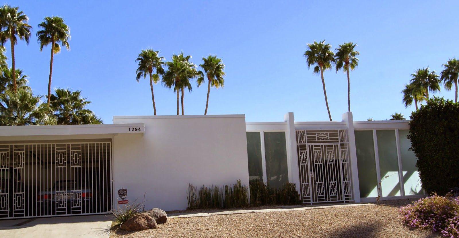 Walking Tour, Vista Las Palmas, Palm Springs, Modernism Week | mid ...