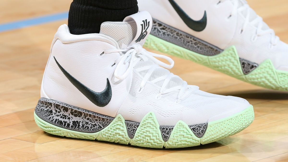 Kyrie Irving Wears Two Unreleased Nike Kyrie 4 Colorways