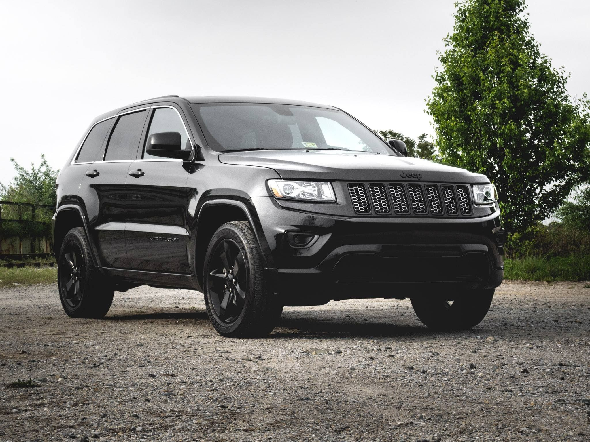 2015 Jeep Grand Cherokee 4x4 Altitude All Black Jeep All Black