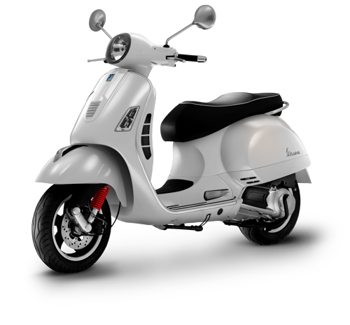 Vespa GTS Super 125 ie Montebianco (4800€) #scooter #moto #design #selected2014