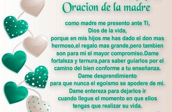 oración de la madre
