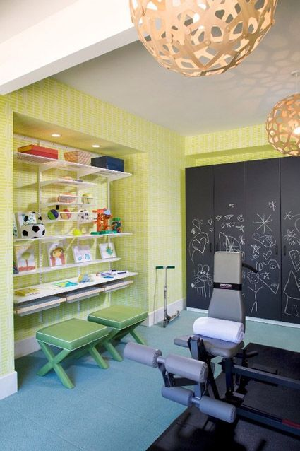 10 Ideas For An Inspiring Home Gym   HomeandEventStyling.com   Other ...