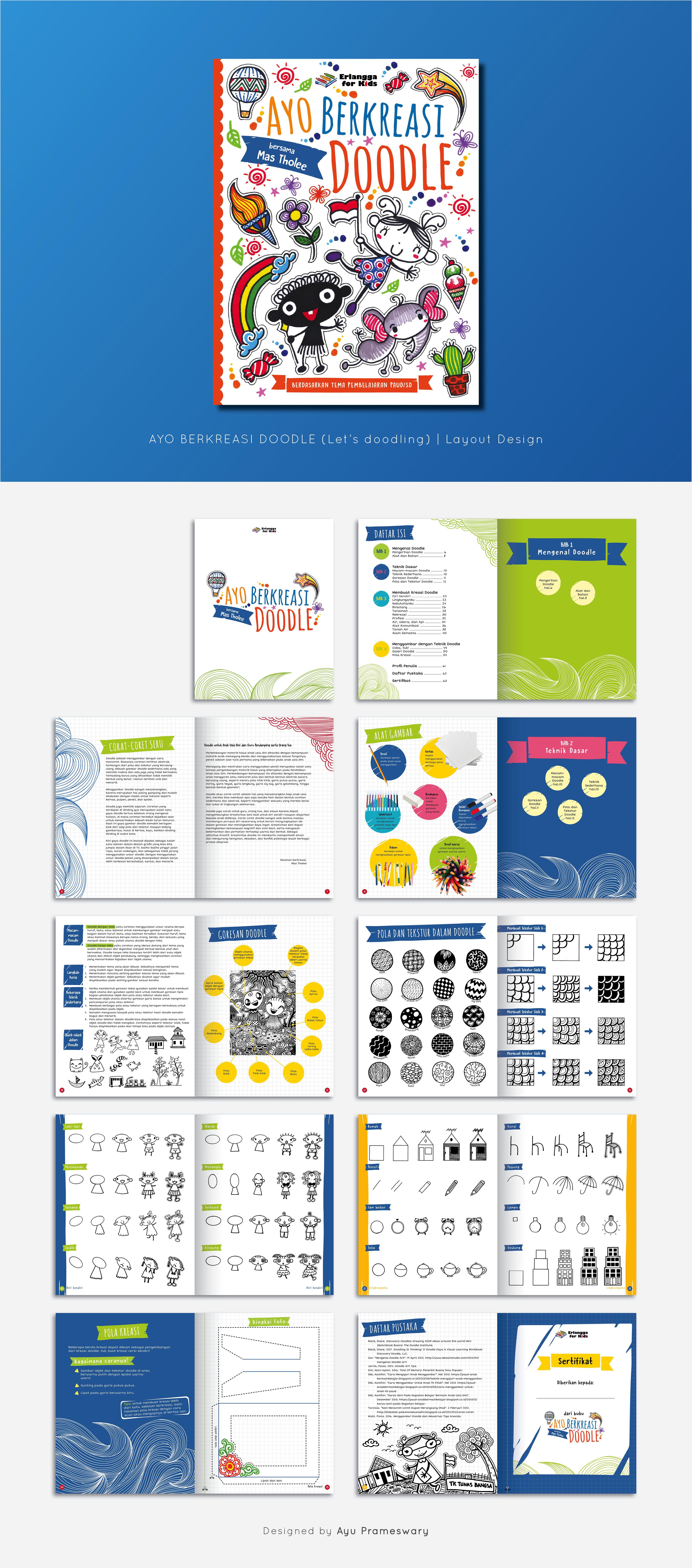 Children Activity Book Buku Anak Ilustrasi Buku Pendidikan