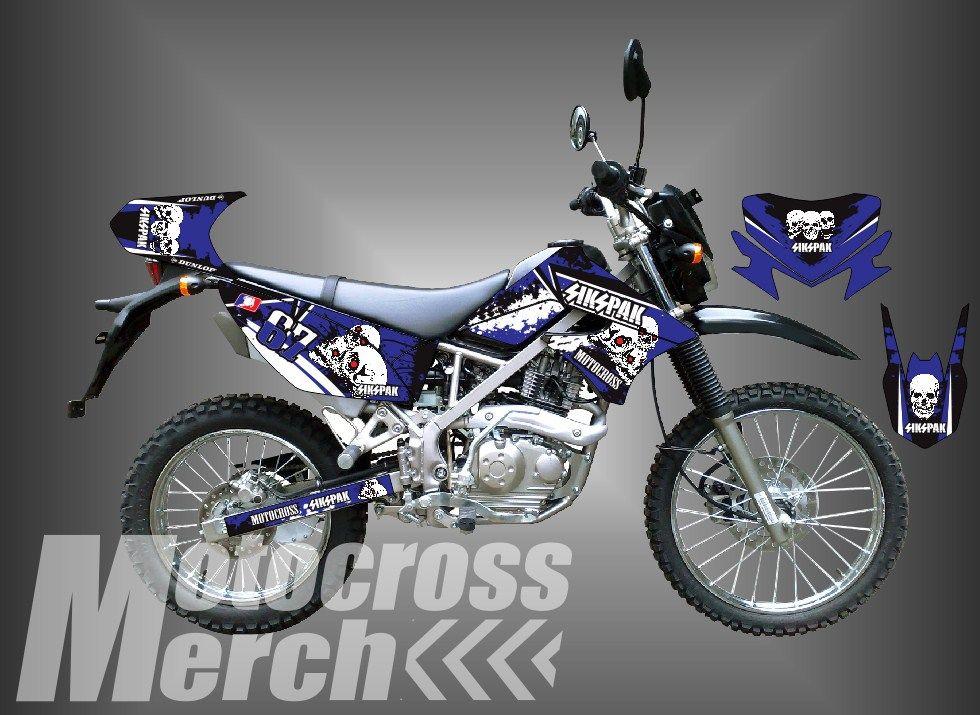 DECAL KLX 150 /DECAL DTRACKER 150 SIKSPAK Motocross