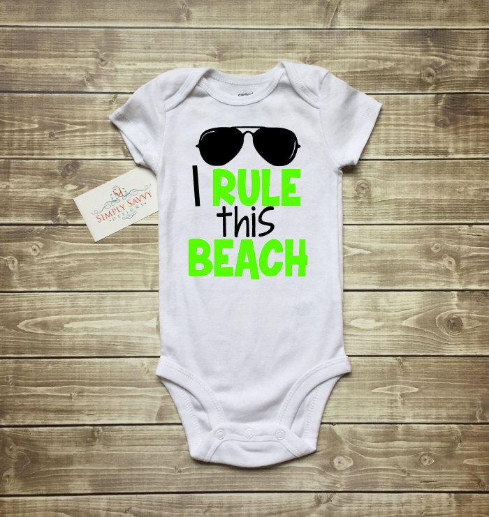 Whats Up Beaches Infant Baby Romper Summer Short Sleeve Onesie Funny Gift