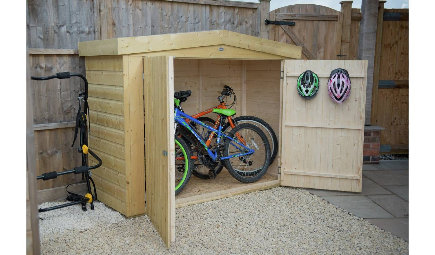 Forest Shiplap Apex Large Outdoor Store 2000 Litre