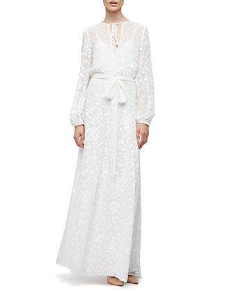 Peasant Long Sleeve Formal Dresses